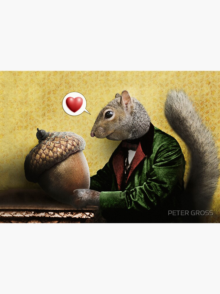 Mr. Squirrel Loves His Acorn by petergross