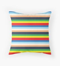Max's Colourful Striped Outfit Floor Pillow