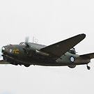 Lockheed A-29 Hudson by inmotionphotog