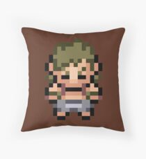 Bruno Overworld Sprite: FRLG Throw Pillow