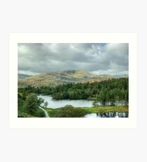 Tarn Hows Views...Wetherlam Art Print