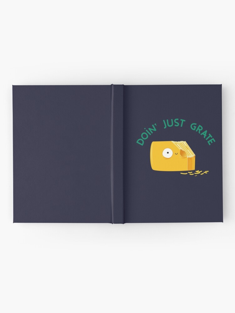 Alternate view of Grate Hardcover Journal