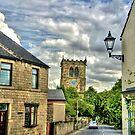 """Church Street, Darfield Village"" by Bradley Shawn  Rabon"