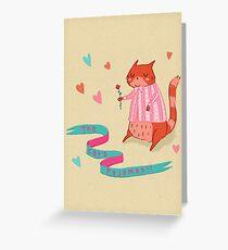 The Cat's Pyjamas Greeting Card