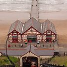 Cliff Lift and Pier at Saltburn by gazmercer