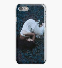 Sleeping girl in forest iPhone Case/Skin