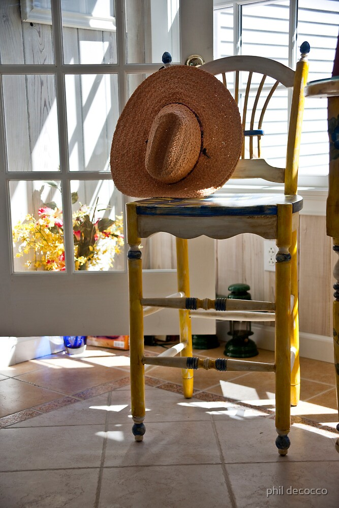 Country Chair by phil decocco