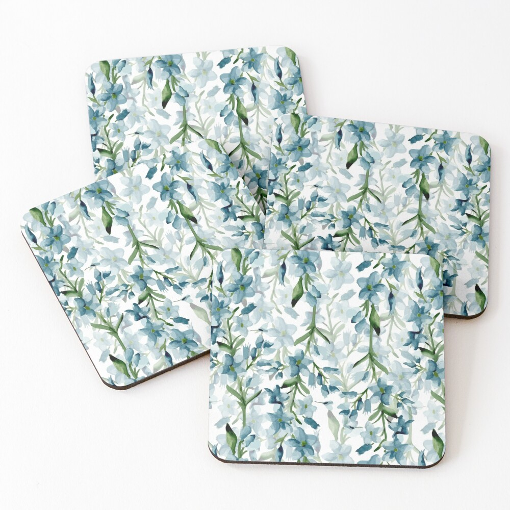 Blue branches Coasters (Set of 4)