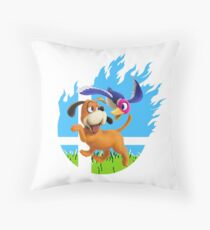 Smash Hype - Duck Hunt Dog Throw Pillow