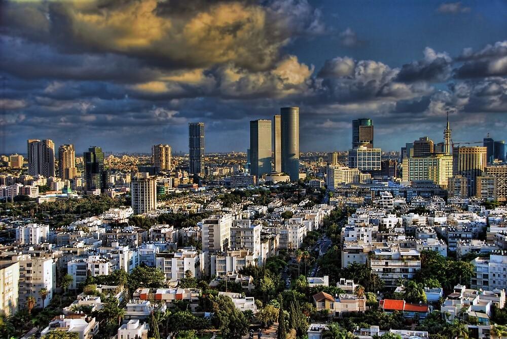 Tel Aviv Heliport shadowing by Ronsho