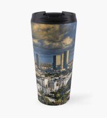 Tel Aviv Heliport shadowing Travel Mug