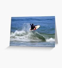Frontside Air Greeting Card