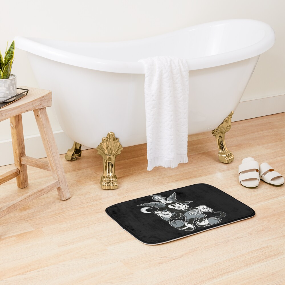 Do Walt Thou Wilt - Baphomet - Creepy Cute Occult Bath Mat