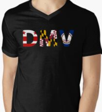 DMV Men's V-Neck T-Shirt