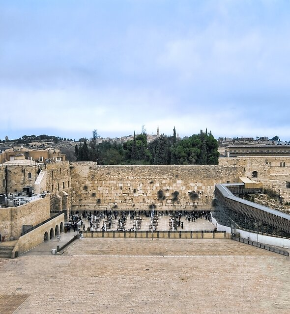 Jerusalem and the western wall by Ronsho