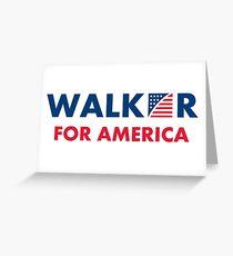 Scott Walker For America Greeting Card