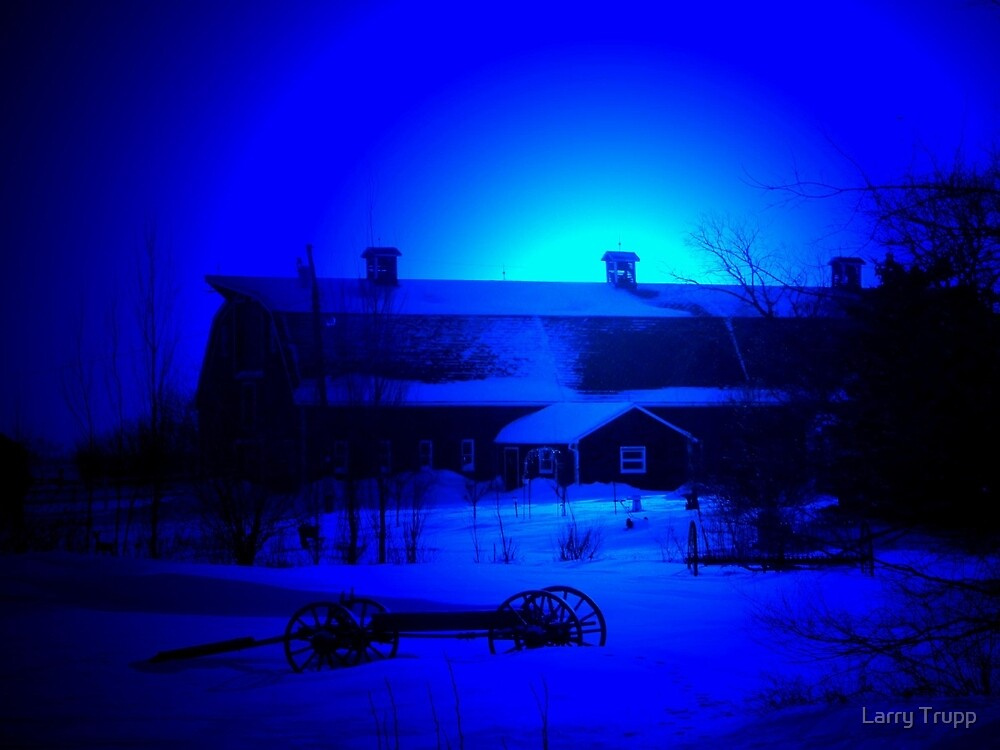 MY BLUE HAVEN... by Larry Trupp