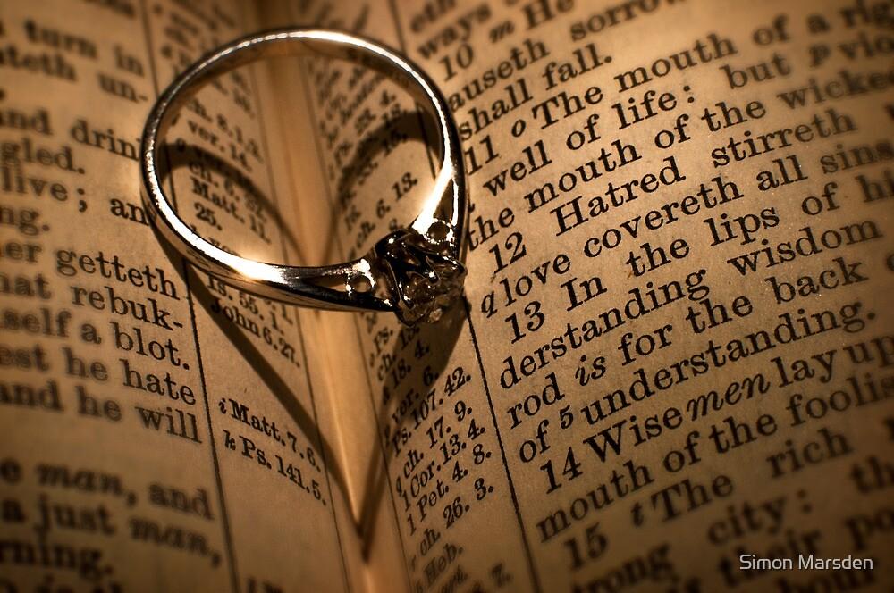 Love Proverb by Simon Marsden