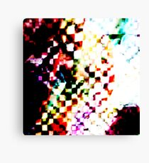 abstract cubed Canvas Print