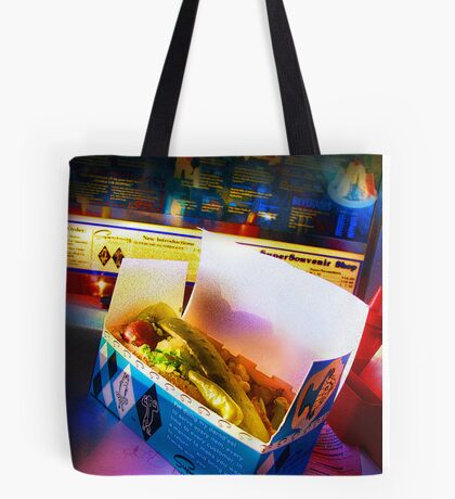 superdawg on a bun Tote Bag