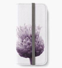 Monochrome - Centaurea iPhone Wallet/Case/Skin