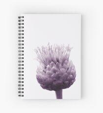 Monochrome - Centaurea Spiral Notebook