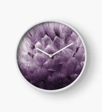 Monochrome - Centaurea Clock