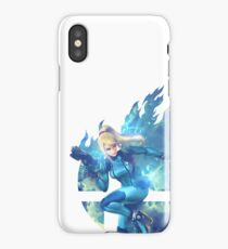 Smash Hype - Zero Suit Samus iPhone Case