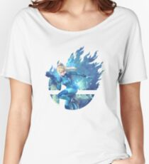 Smash Hype - Zero Suit Samus Relaxed Fit T-Shirt