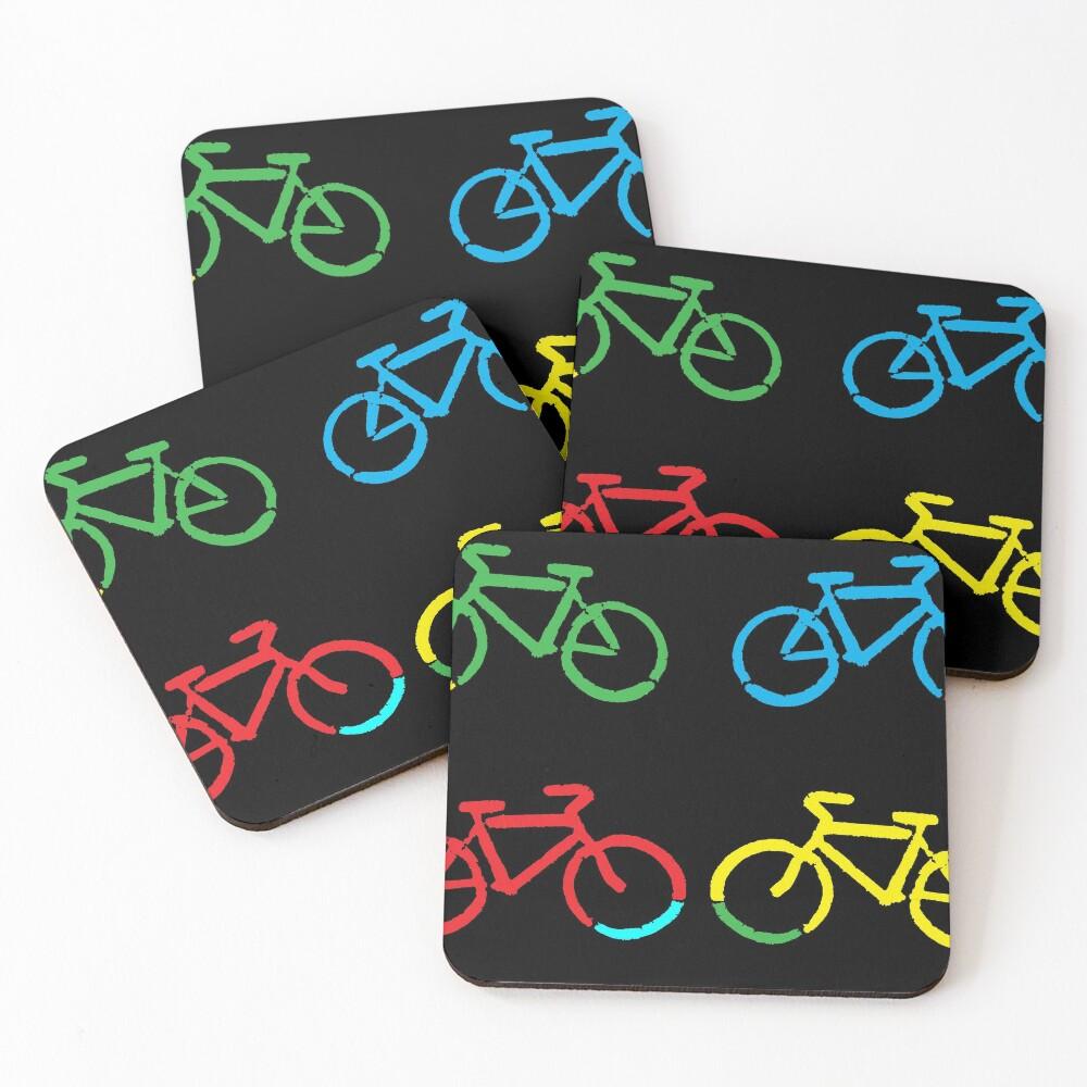 Bike Race Coasters (Set of 4)