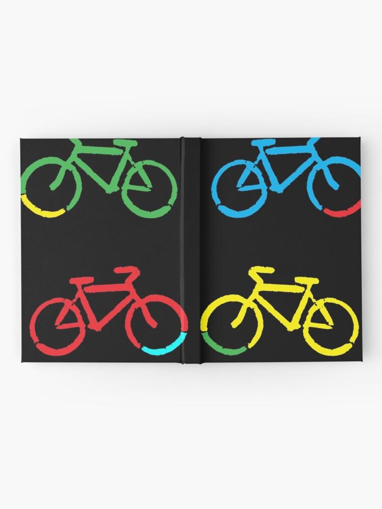 Alternate view of Bike Race Hardcover Journal
