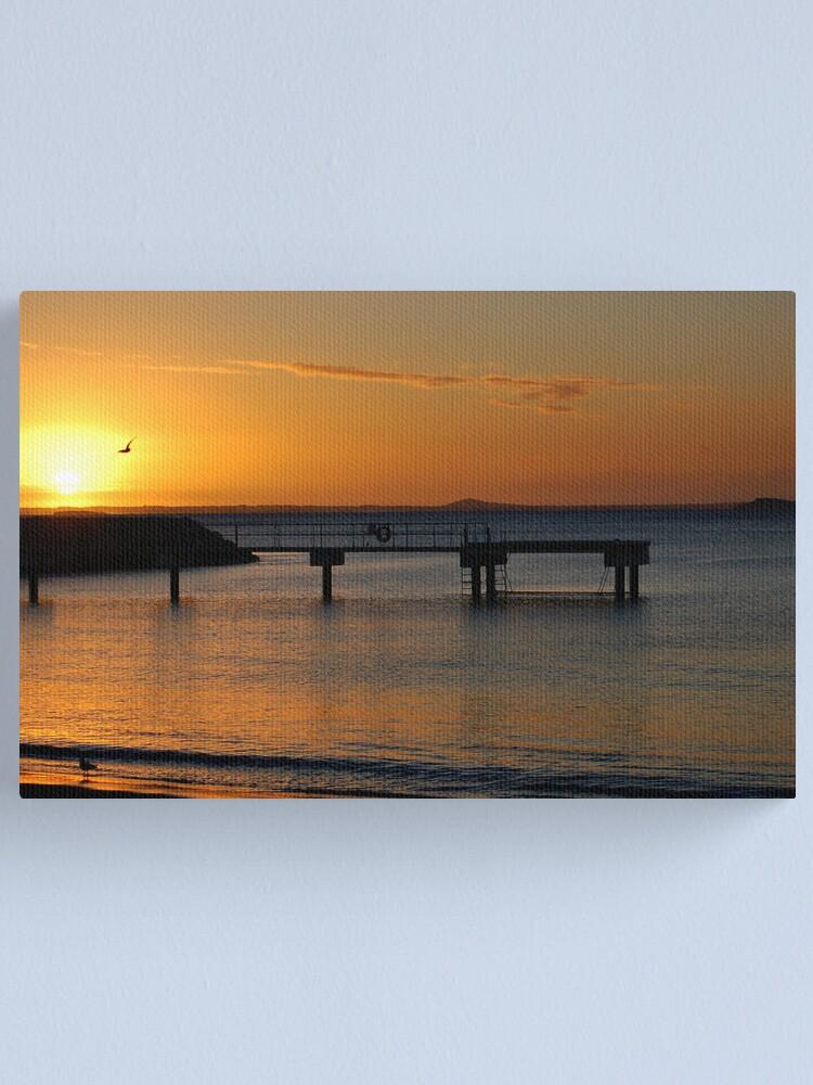 Alternate view of An Esperance Sunrise Canvas Print