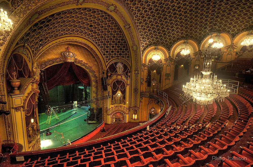 Palace Of Dreams - State Theatre Sydney - The HDR Experience by Philip Johnson