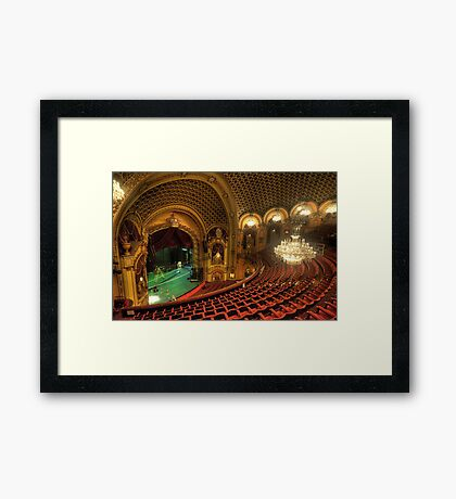Palace Of Dreams - State Theatre Sydney - The HDR Experience Framed Print