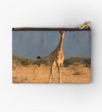 Baby Giraffe Zipper Pouch
