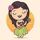 Hula Girl by zoljo