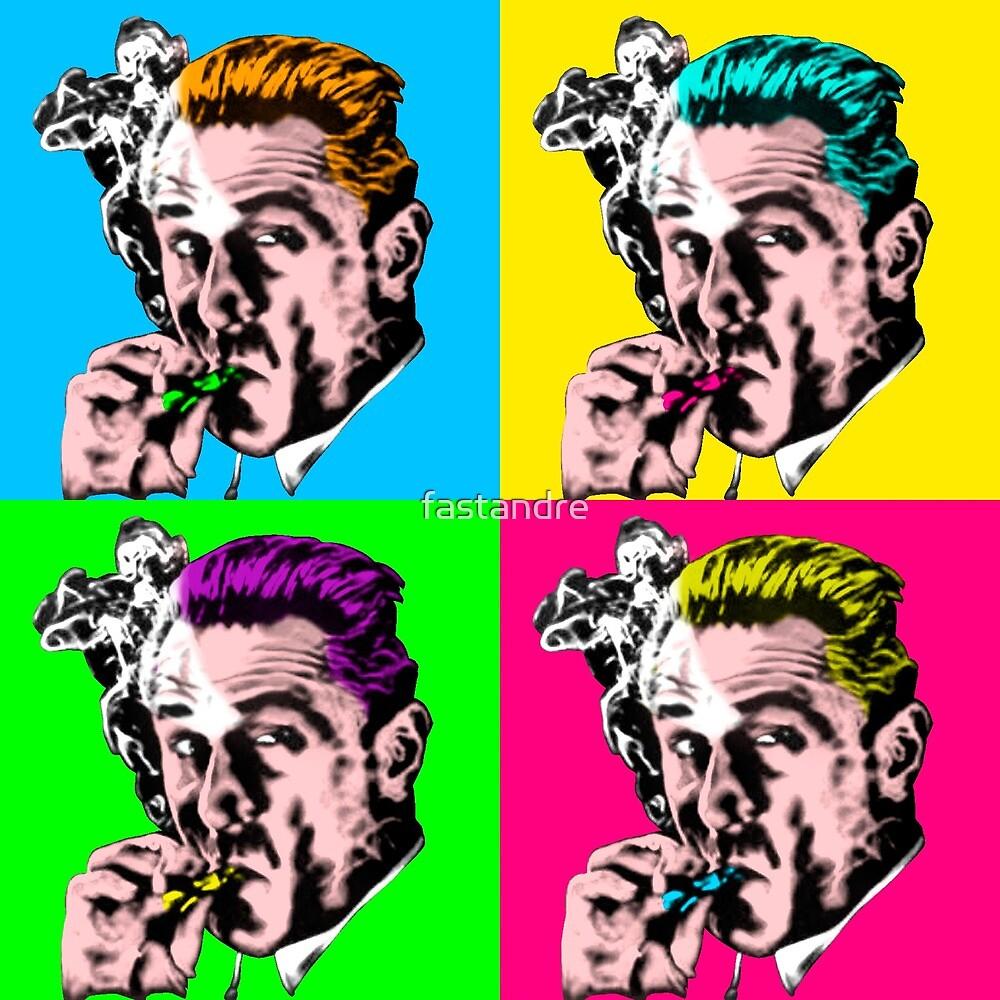 De Niro Goodfellas Warhol Pop Art by fastandre