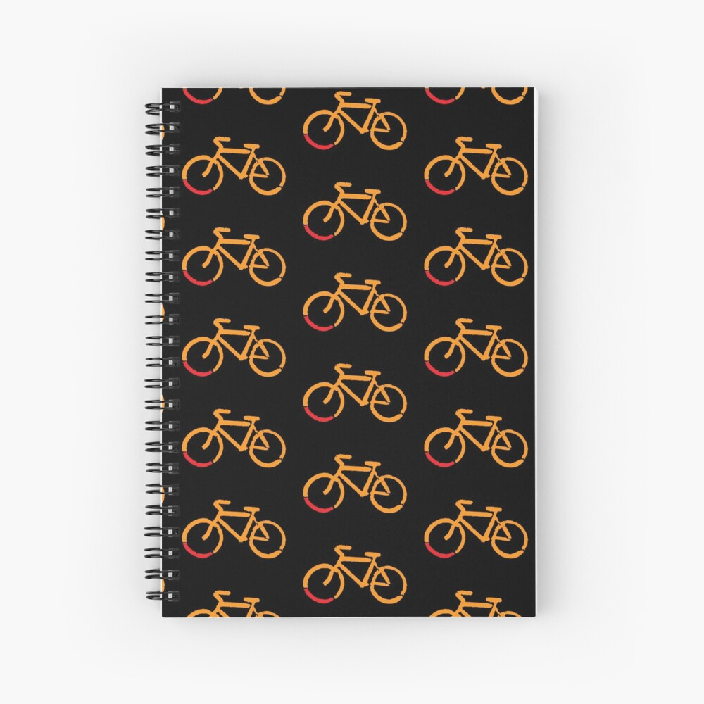 Bike Too Spiral Notebook
