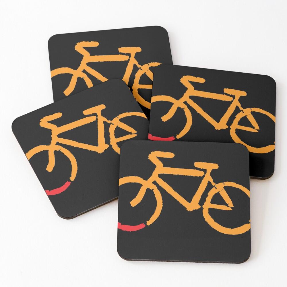 Bike Too Coasters (Set of 4)