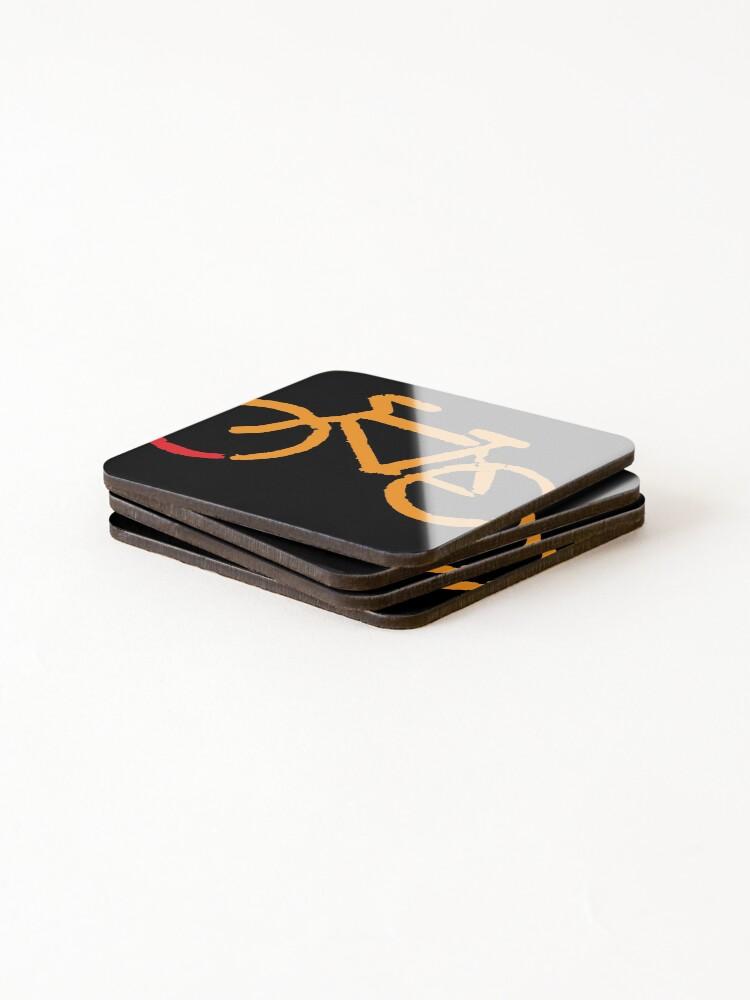 Alternate view of Bike Too Coasters (Set of 4)