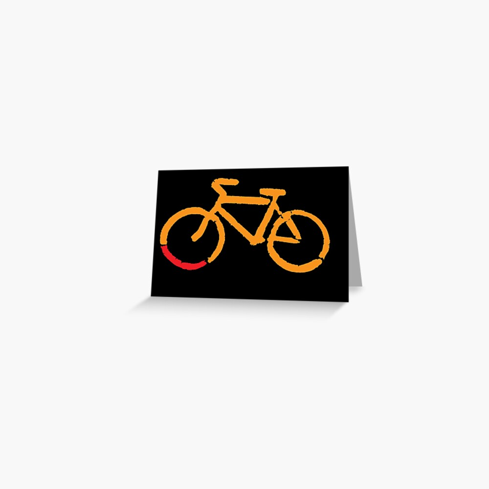 Bike Too Greeting Card