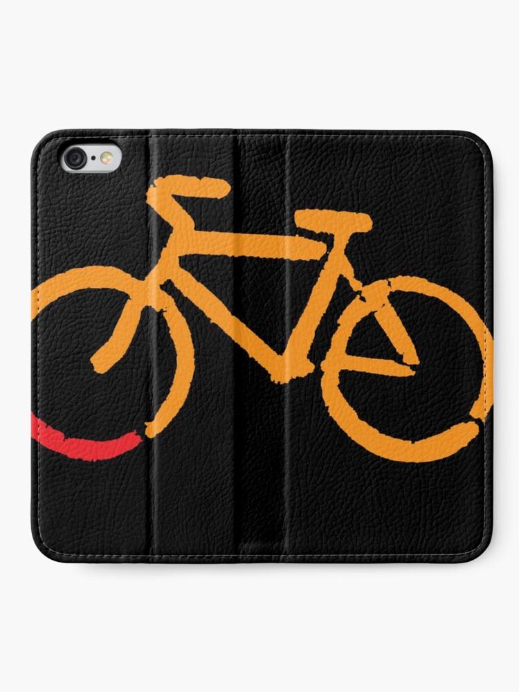 Alternate view of Bike Too iPhone Wallet