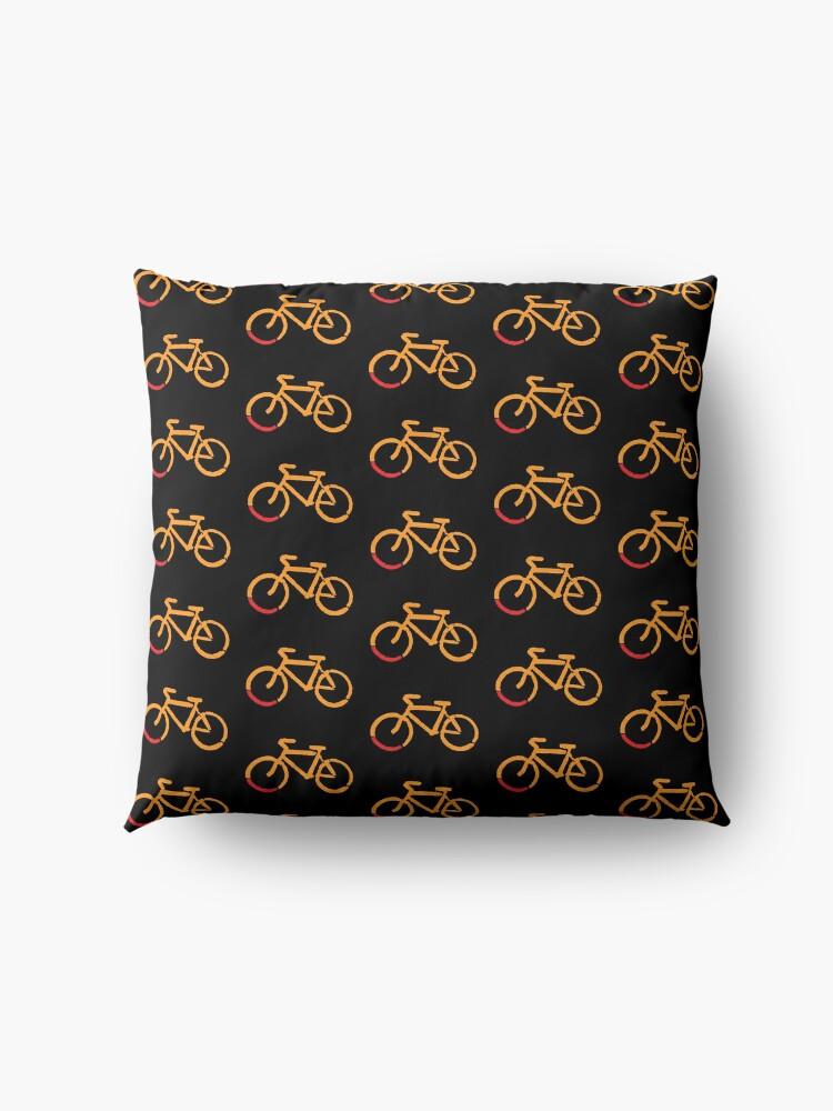Alternate view of Bike Too Floor Pillow