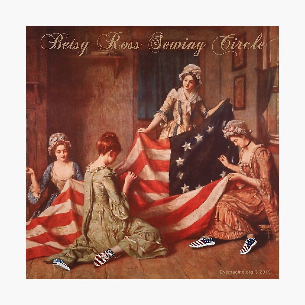 Betsy Ross Sewing Circle Photographic Print