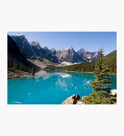 Moraine Lake, Banff National Park Canada Photographic Print