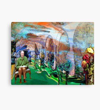 Between Realities Canvas Print