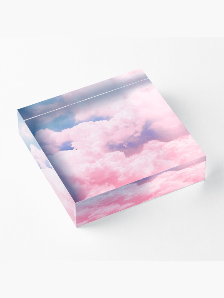Alternate view of Candy Sky Acrylic Block