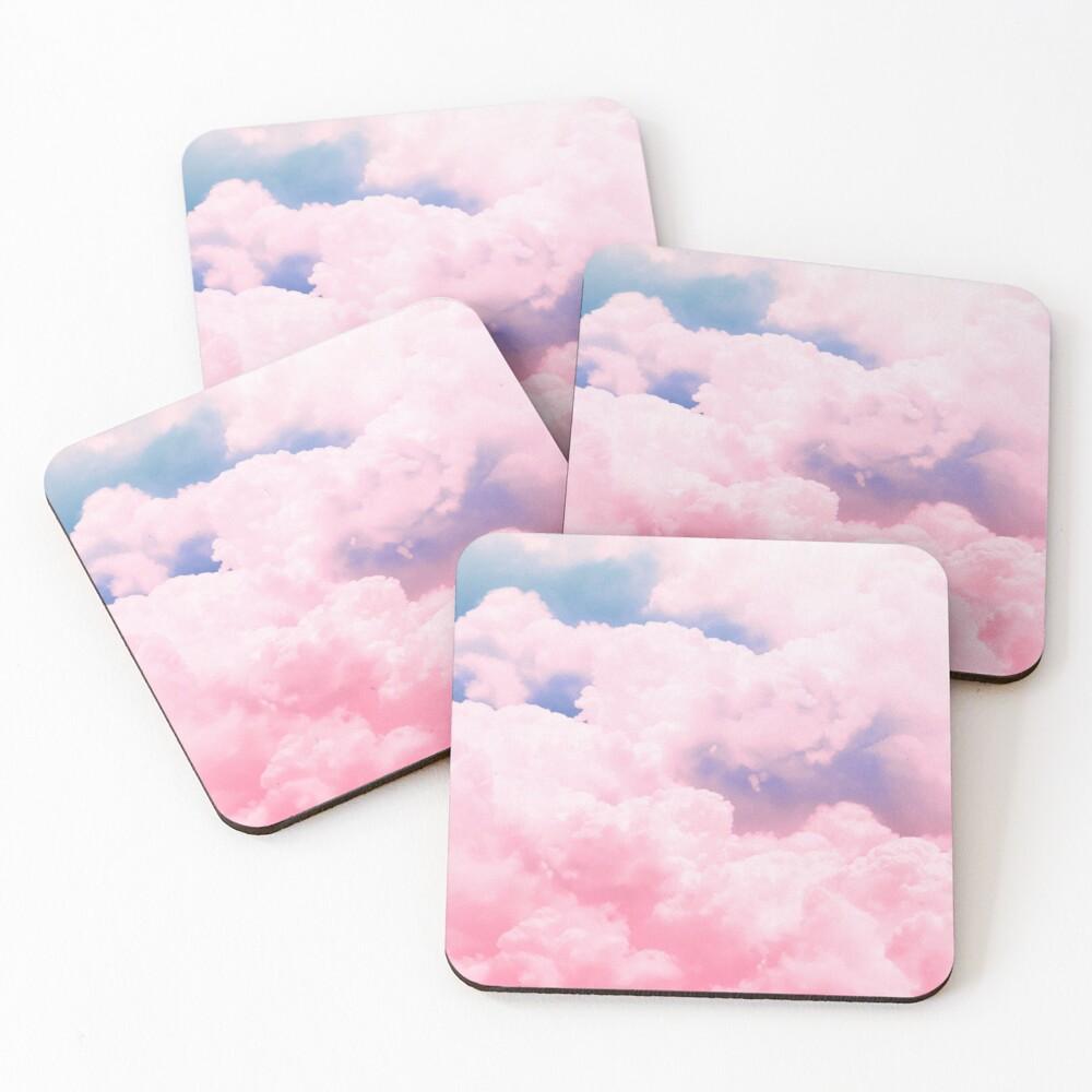 Candy Sky Coasters (Set of 4)