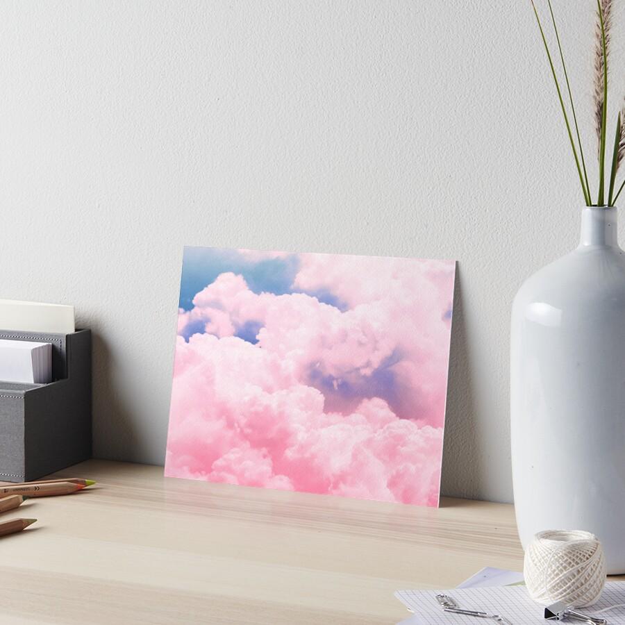 Candy Sky Art Board Print