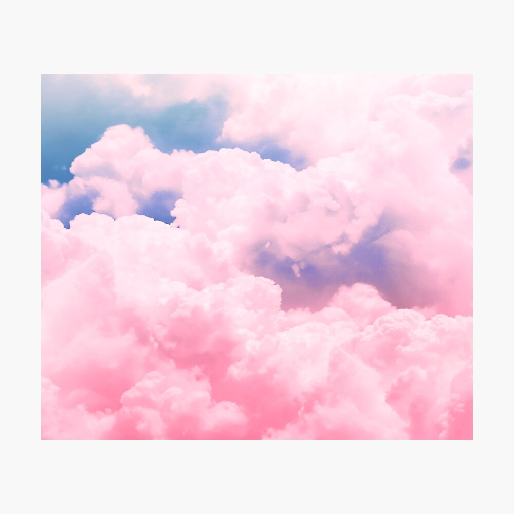 Candy Sky Photographic Print
